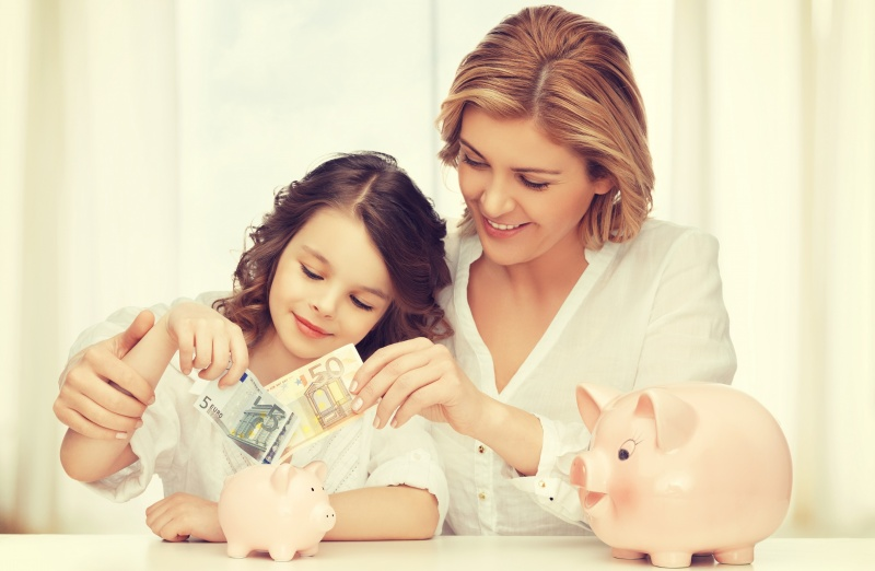 Teach your children how to handle money