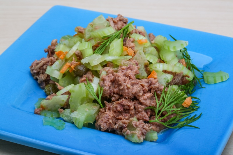 easiest tuna salad with celery